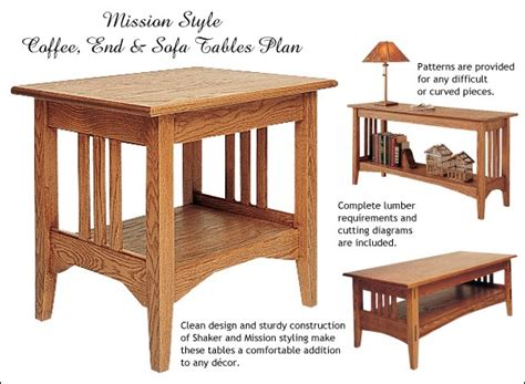 guies plans  wood  tables
