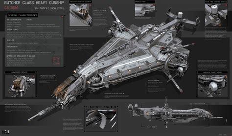 Bedroom Key Dragon Age concept ships butcher class heavy gunship by karanak