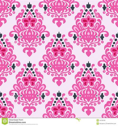 pattern cute pink vector cute seamless vector pattern stock illustration