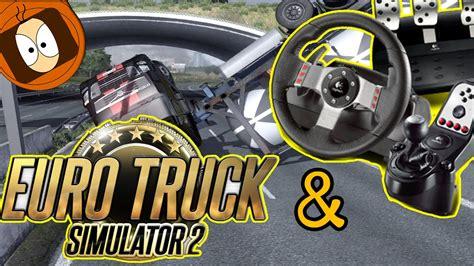 volanti pc volant g27 truck simulator 2 test 100 simulation