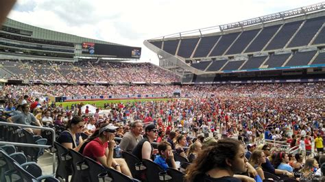 Soldier Field Section 105 Concert Seating Rateyourseats Com