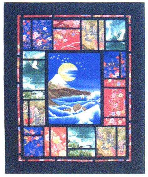 quilt pattern with panel i have this panel so i m considering this pattern