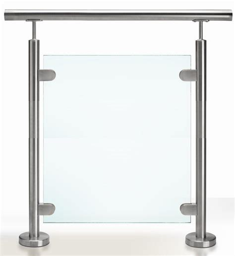 stainless steel banisters steel plus railing solution ss glass railing ss glass