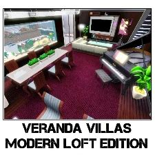 Veranda Villas Sims 3 by Veranda Villas Modern Loft By Melissagibb The Exchange