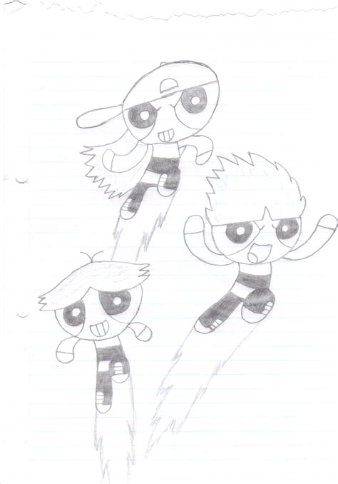 The Rowdyruff Boys By Airedaledogz On Deviantart The Rowdyruff Boys Coloring Pages