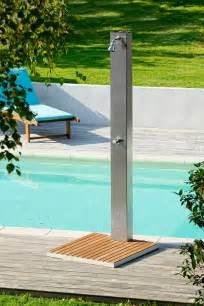 doccia solare giardino doccia solare da giardino 20 modelli eleganti e