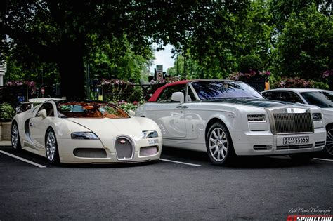 roll royce sport car photo of the day bugatti veyron grand sport rolls royce
