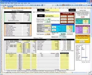 cashflow 101 amp 202 excel spreadsheets rich dad kiyosaki ebay