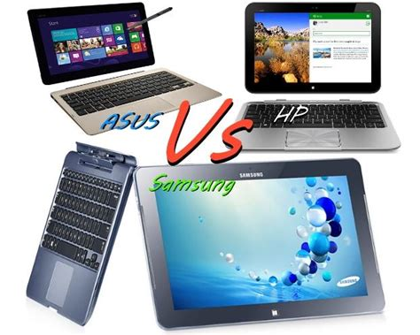Hp Samsung Windows 7 windows 8 tablet showdown asus vs hp vs samsung gear guide australia