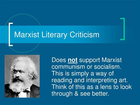 themes of marxist literature ppt marxist literary criticism powerpoint presentation
