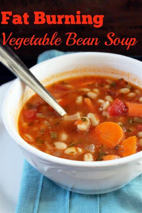 not quite a vegan fat burning vegetable bean soup