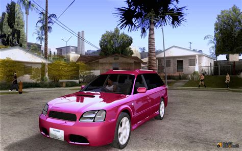 custom subaru legacy wagon subaru legacy station wagon for gta san andreas