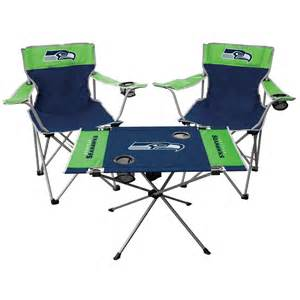 seattle seahawks tailgate chair table set