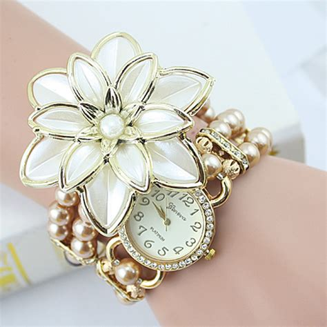 Pearl Flower Fashion 2017 new arrival fashion flowers pearl bracelet