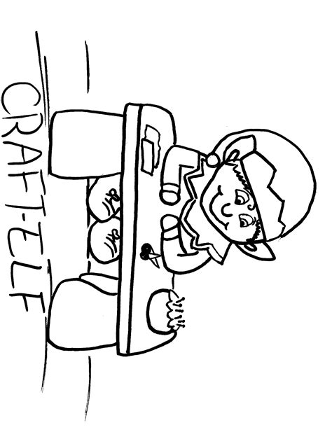 shelf elf library coloring page coloring pages