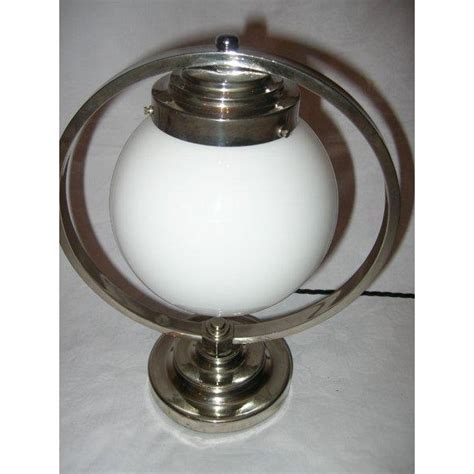 Matching Table And Ceiling Lights Lovely Pair Of Nickle Plate Ring Table Ls On