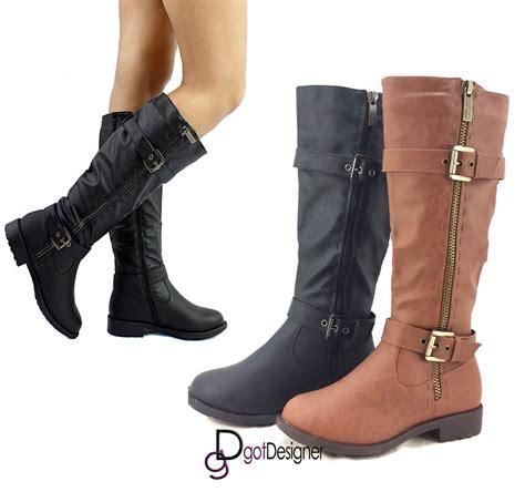 Sandal Wanita Catenzo Nn 039 Brown s fashion shoes knee high boots cowboy slouchy toe ebay