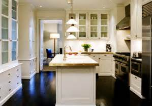 White Kitchen Cabinets Wood Floors by White Kitchen Cabinets With Wood Floors Cottage