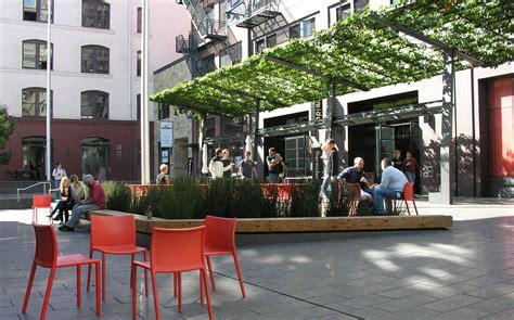Trellis Menu Mint Plaza Cmg Landscape Architecture