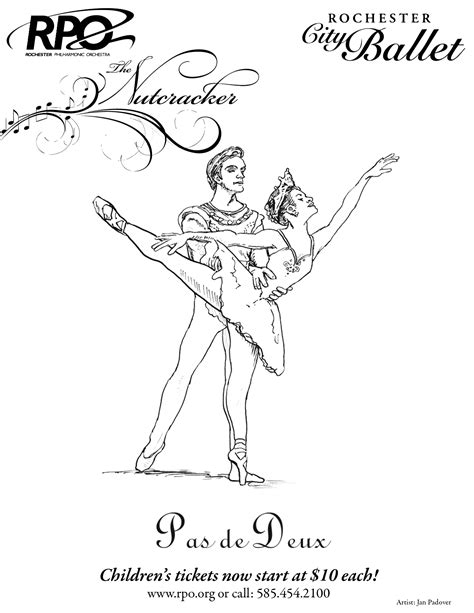 coloring pages for nutcracker ballerina nutcracker coloring page coloring home