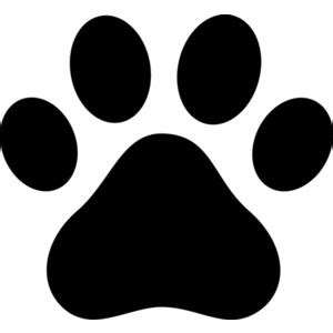 panther paw print clip clipart best clipart best clip paw prints clipart best