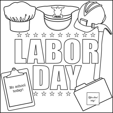 labor day colors labor day coloring