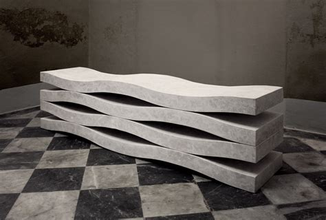 bench cut marble bench cut from a single block home inspiration