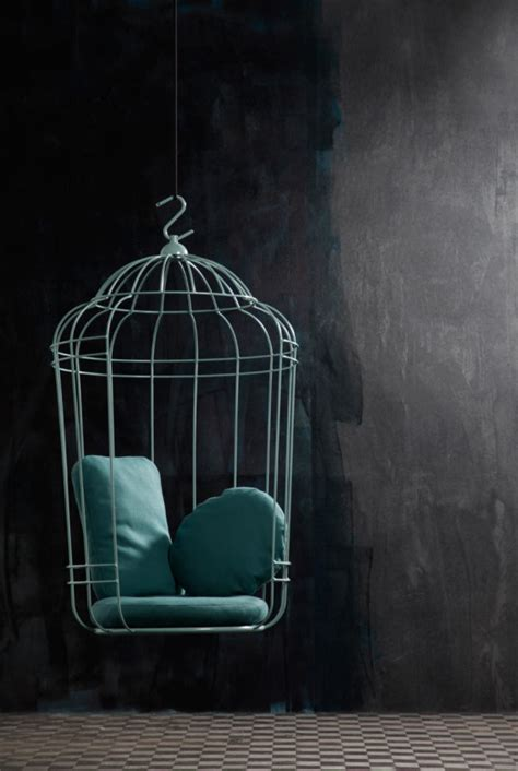 birdcage swing whimsical bird cage swing by ontwerpduo designfaves