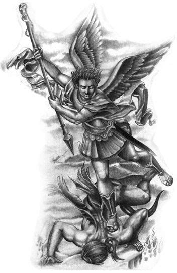 st michael archangel tattoo designs 25 best ideas about michael on