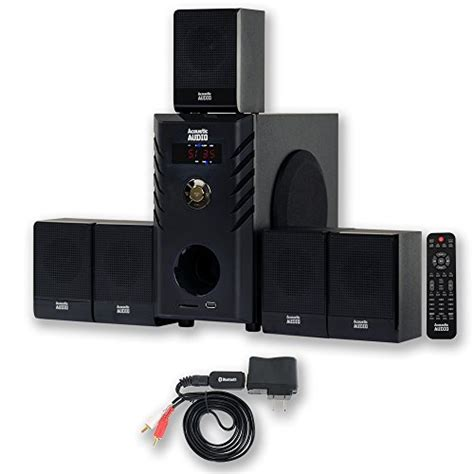 review acoustic audio aa5104 home theater 5 1