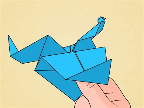 How To Make Origami Dragons - how to make an origami with pictures wikihow