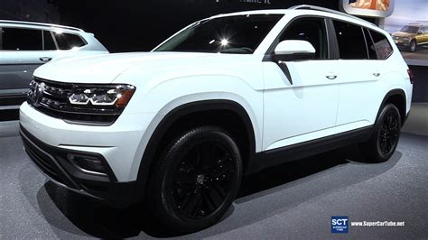 white volkswagen atlas 2017 volkswagen atlas sel v6 4motion exterior and