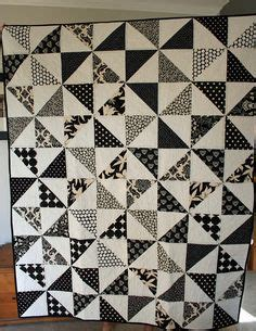1000 ideas about black and white quilts on