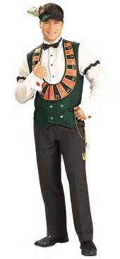las vegas costumes card dealer costume