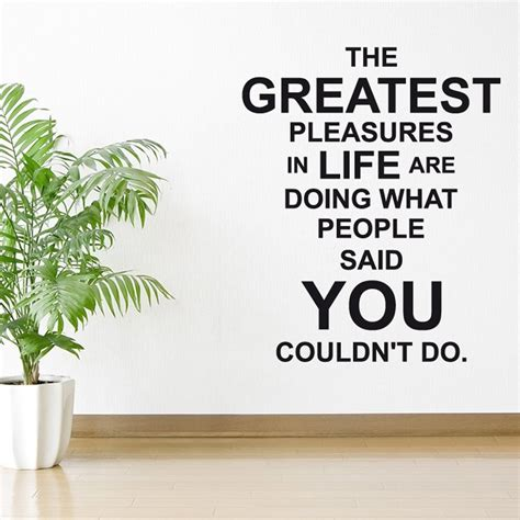 wall sticker quotes uk greatness wall sticker quote wall chimp uk