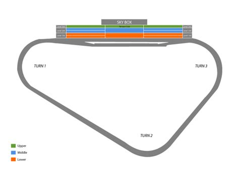 pocono raceway seating chart pocono raceway seating chart and tickets
