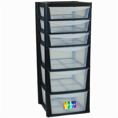 plastic drawer tower extra large 6 drawer tower storage plastic draw home set