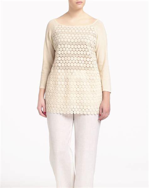 el corte ingles online ropa jersey de mujer couchel mujer tallas grandes el