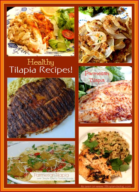 can dogs eat tilapia 14 healthy tilapia recipes 3 boys and a