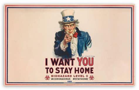 stay home biohazard warning poster ultra hd