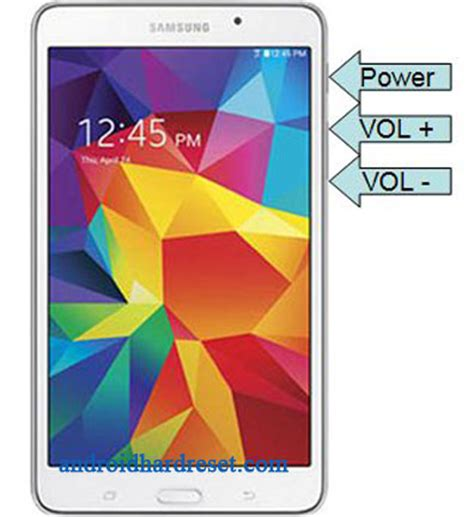 reset samsung galaxy tab 4 hard reset samsung galaxy tab 4 nook how to hard reset