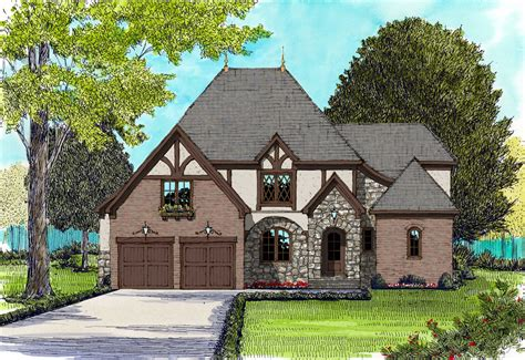 english tudor house french plans edg 3910