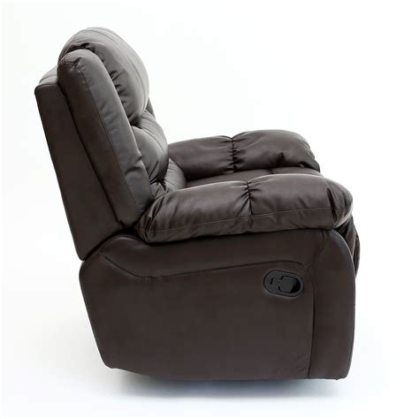 recliner game chair seattle leather recliner armchair sofa home lounge chair