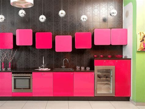 pink kitchen cabinets pink kitchen ideas and color schemes design bookmark 13354