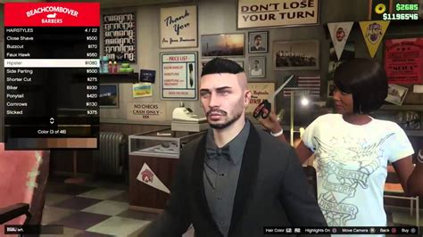 Gta 5 Hairstyles by How Change Your Hair Color And Gta 5 Next