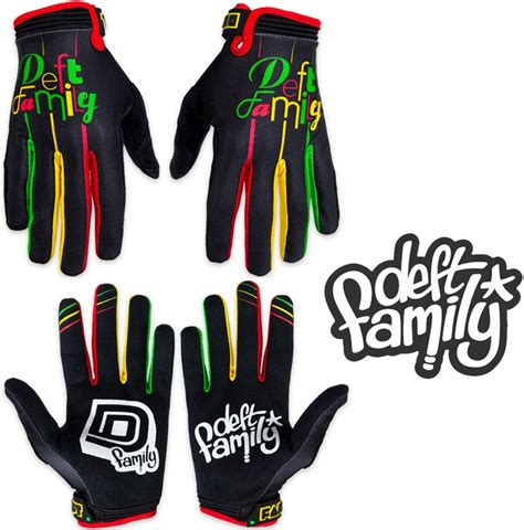 Sepatu Dc Deft Family deft family motocross mx gloves catalyst 2 lucid rasta