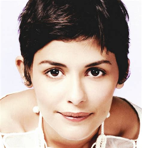 french actress with short hair audrey tautou