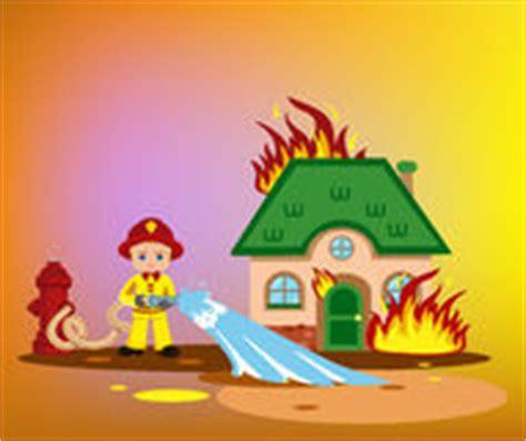 brennendes haus stock illustrationen vektors klipart