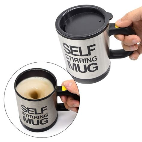 Self Mug Stirring the great garden gnome novelty gift ideas