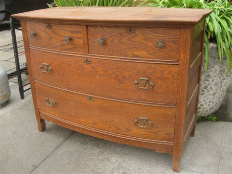 Dresser Antique uhuru furniture collectibles sold antique oak dresser